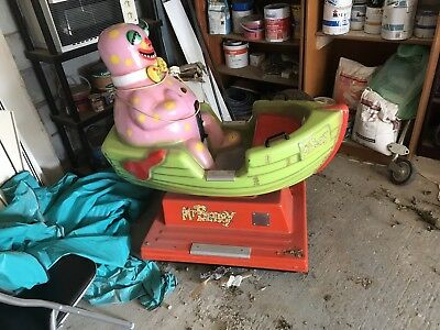 Mr blobby coin op Ride On