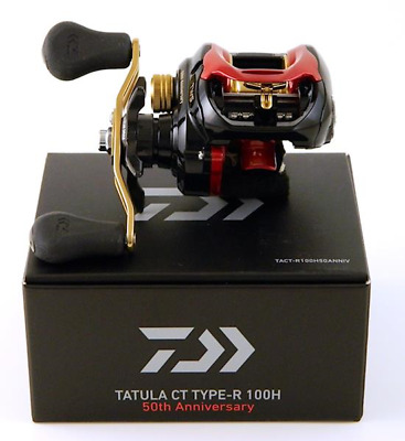 DAIWA TATULA CT Type-R 100H 50th ANNIVERSARY- 6.3:1 BAITCASTER Reel - Boxed NEW!