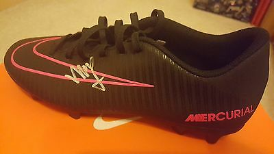 MEMPHIS DEPAY personally signed NIKE mercurial left boot - Lyon