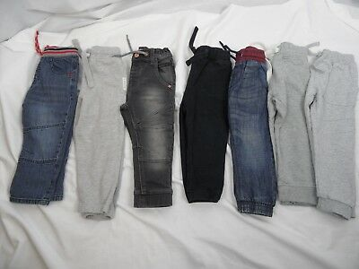 7 Piece Bundle Of Boys Clothes, Jeans, Joggers, 1.5-2 Years, Next & Nutmeg