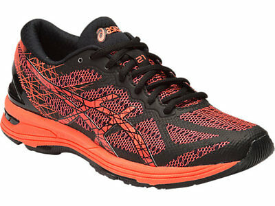 Asics Gel-DS SS16 Womens Running Shoes  BLK/Coral/SILV