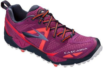 Brooks Cascadia 9 Womens Purple/Red Trainer