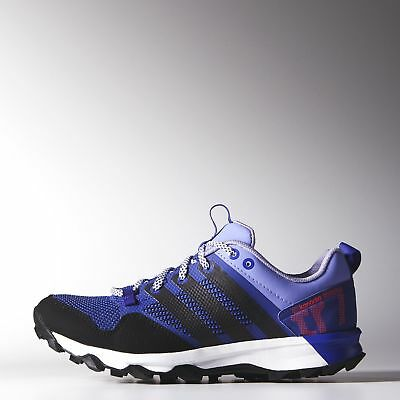 Adidas Kanadia 7 Trail Womens Purple/black Running Shoes