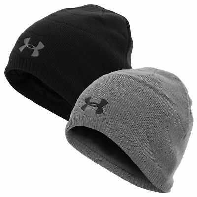 Under Armour 2017 Mens UA Golf Knit Reactor Beanie Winter Lined Hat - 1298512