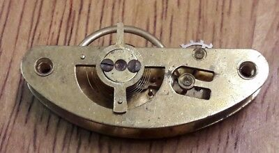A Small Size Part Curved Platform Escapement.