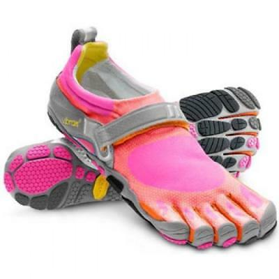 Vibram Fivefingers W343 Bikila Womens Magenta/Orange/Grey Trainer