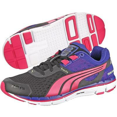 Puma Faas 500 V3 Womens Black/Blue/Purple Neutral Running Shoes
