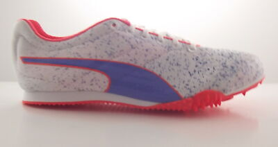 Puma Tfx Star Ns V3 Running Spikes White/ultramarine/fluo Trainer