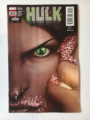 Marvel Comics:  Hulk #10 (2017) - BN - Bagged and Boarded