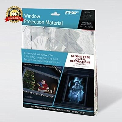 AtmosFX Window Projection Material Sheet Fabric