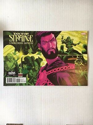Marvel Comics: Doctor Strange and the Sorcerers Supreme #12 (2017) - BN