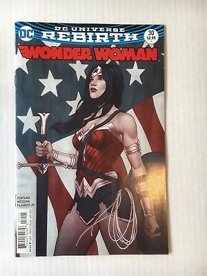 DC Comics: Wonder Woman Variant Cover #30 (2017) - BN - Bagged and Boarded