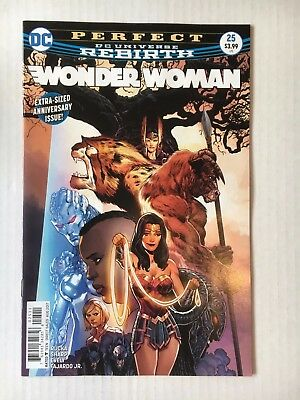 DC Comics: Wonder Woman #25 (2017) - BN - Bagged and Boarded