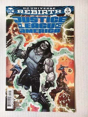 DC Comics: Justice League America #13 Variant Edition(2017)BN Bagged and Boarded