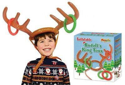 Inflatable Antler Ring Toss Game Christmas Party Games Fundraising