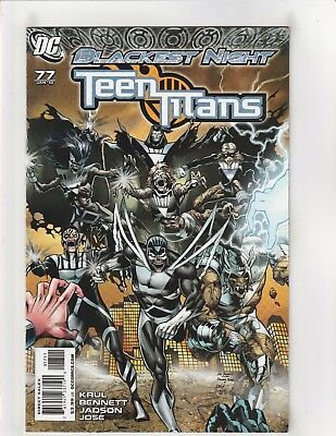 Teen Titans (2003) #77 NM- 9.2 DC Comics Blackest Night
