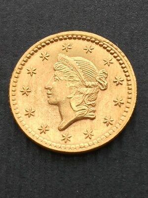 1853 U.S. Gold Coin One Dollar