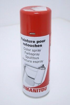 Genuine Manitou Red Spray Paint Can 400ml Aerosol 62133