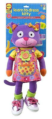 Kids Toddler Little Hands Learn To Dress Kitty Girls Toy Learning Fun Games
