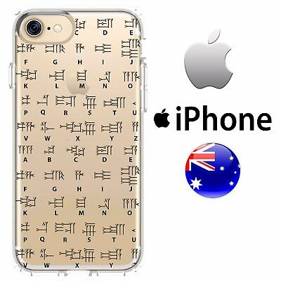 Case Cover Silicone Cuneiform Ancient Sumerian First Writing System Clay