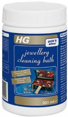 Silver Jewellery Cleaner Gold Jewel Emerald White Diamonds Ruby Cleaning Bath