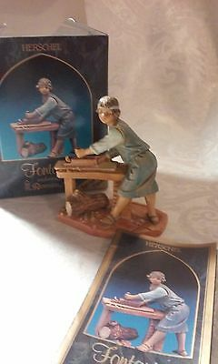 "Fontanini, Herschel Figurine in box. 5"" Collection, Special Event Figure"