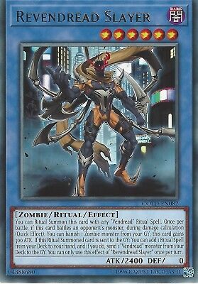 3X Yu-Gi-Oh Card: Revendread Slayer - Rare - Cotd-En082