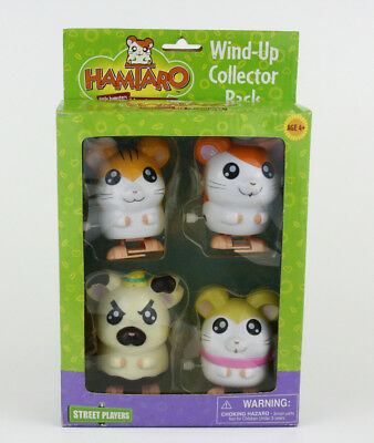 HAMTARO Wind-Up Collector Pack by Street Players 00469- one hamster doesn't work