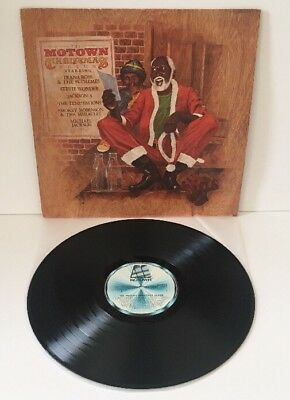 THE MOTOWN CHRISTMAS ALBUM VINYL LPSTML 12037 1977 Pro Cleaned & Play Tested