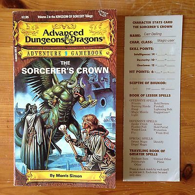 The Sorcerer's Crown - Advanced Dungeons & Dragons Adventure Gamebook 9 - TSR