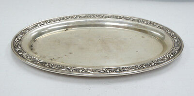 Beautiful Gorham Sterling Small Oval Tray  A3473