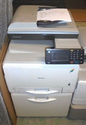 RICOH MP C305spf FULL COLOUR ALL-IN-ONE PRINTER with 76k (RENT THIS FOR £25 PM)