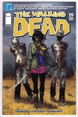 The Walking Dead #19 Image Comics 1st appearance of Michonne Key Issue 1st Print