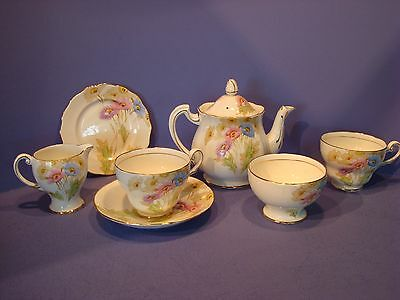 Royal Standard Tea For Two/now One, 7 Pieces