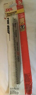 "Skil 94100-05 9"" Pruning Reciprocating Saw Blade (5 Pack) New in package"