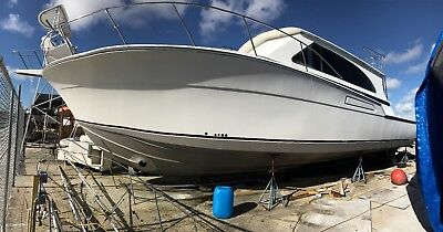 PROJECT BOAT-1986 Bertram 46 Convertible. 75% Done!! Looks like a 2015 Model!
