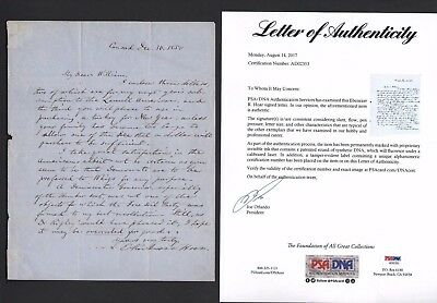 1850 ALS Signed Letter E. Rockwood Hoar Attorney General For President Grant