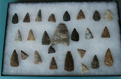 Super Lot of Arrowheads! From Kentucky, Ohio, Tennessee Area