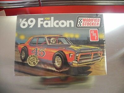 1 25 Amt 1969 Ford Falcon Modified Stocker Model Kit Sealed