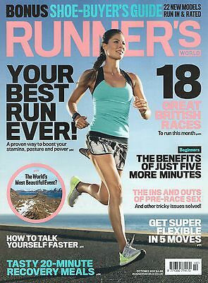 Runners World Magazine : October 2017 (BRAND NEW/SEALED) Subscriber Cover