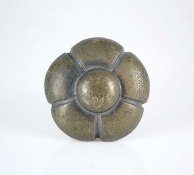 ANTIQUE HEAVY BRASS DOOR, CABINET or DRAWER PULL~ca. MID 1900's