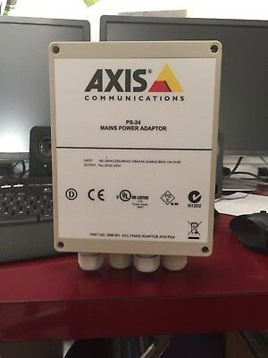 Axis 12 Volt Outdoor Camera Power supplies With Pole Mount Kit. (4) Available