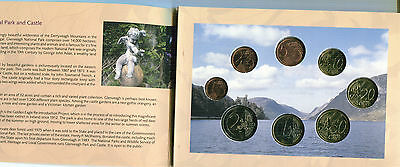 Irlanda Cartera Euro Coin Set 2006  Official Issue