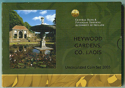 Irlanda Cartera Euro Coin Set 2005  Official Issue