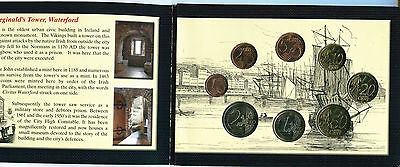 Irlanda Cartera Euro Coin Set 2004  Official Issue