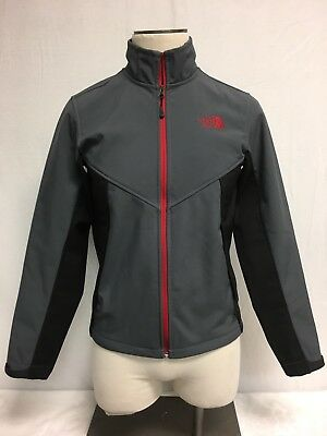 The North Face Men's Gray Winter Zip Up Jacket Sweater, Size S Small