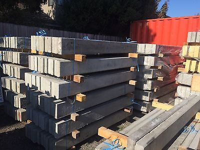Concrete Sleepers For Retaining Walls 200x2 And 2.4m Lengths