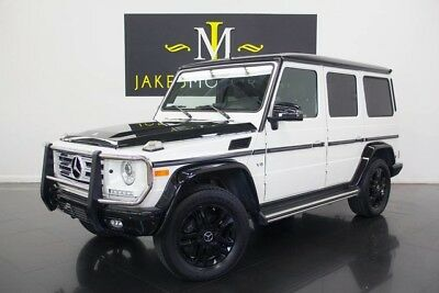 2015 Mercedes-Benz G-Class G550 Night Star Edition**1 OF 100 MADE** 2015 MERCEDES G550 Night Star Edition, 1 OF 100 MADE! DESIGNO MYSTIC WHITE, RARE