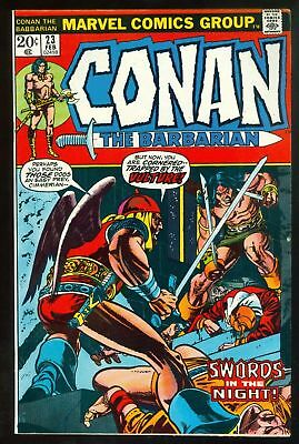 (1973) Conan the Barbarian #23 _ 1st Red Sonja _ (FN/VF)
