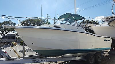 Sea Pro 235 WA 2000 Walk Around Cuddy. Very Clean! No Reserve!!